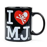 mastermind JAPAN マスターマインド ジャパン マグカップ I love MJ ハート柄 (ブラック)