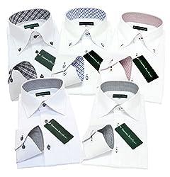 グリニッジ ポロ クラブ 長袖ワイシャツ5枚セット 豊富な7サイズ
