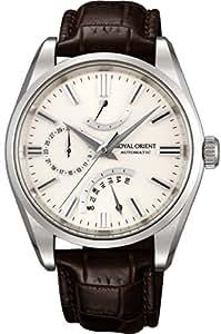 [オリエント]ORIENT 腕時計 ROYAL ORIENT ロイヤルオリエント レトログラード 機械式時計 アイボリー WE0021JD メンズ