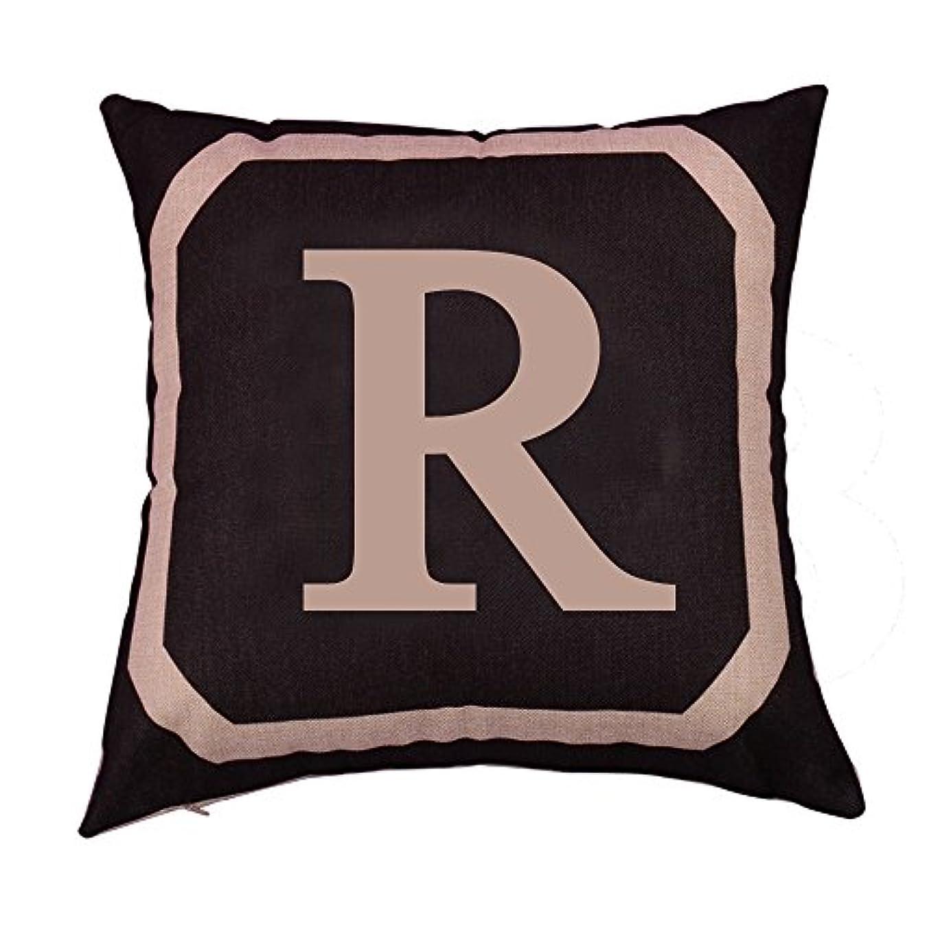 ナイロン抵抗する考案するB Blesiya ピローケース 正方形 リネンスロー クッション カバー ソファ 装飾