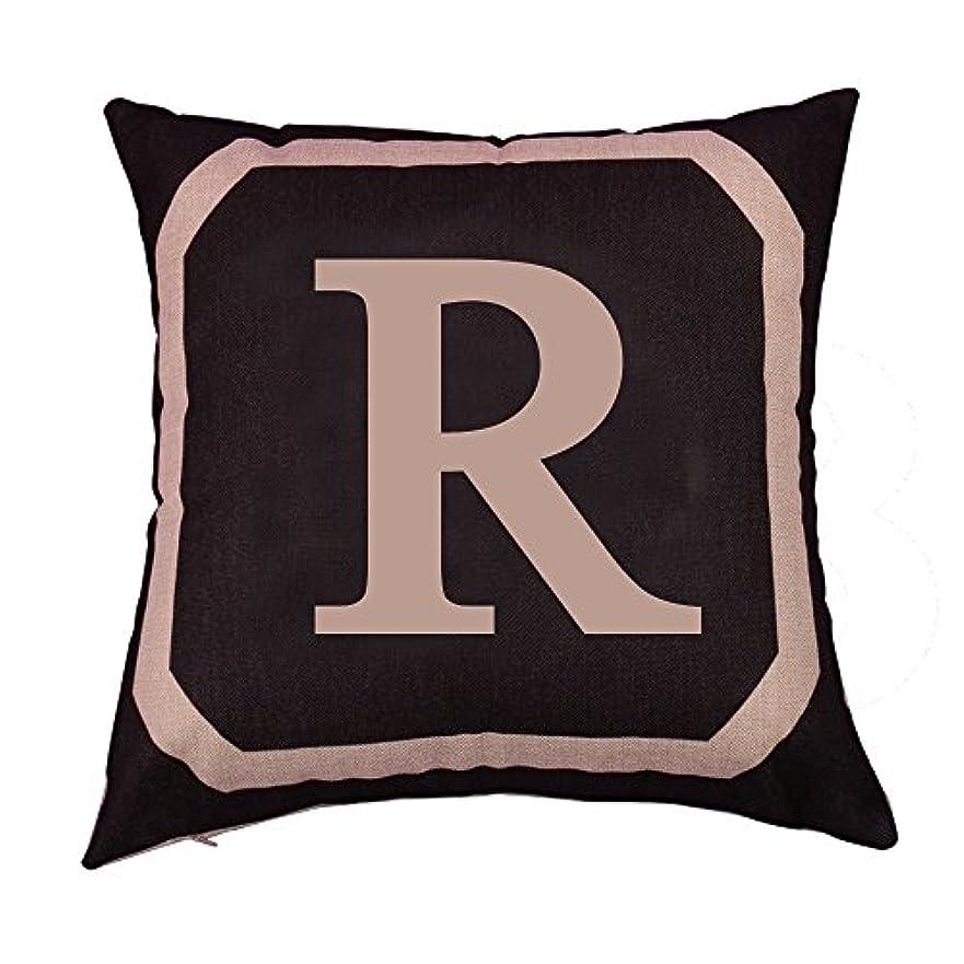 熟達した特にフィールドB Blesiya ピローケース 正方形 リネンスロー クッション カバー ソファ 装飾