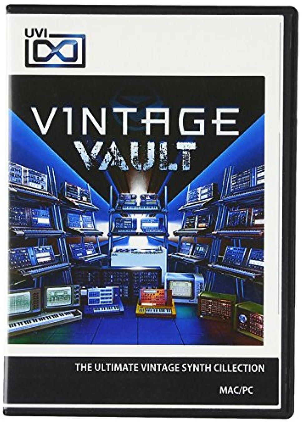 個人的に悪い頑丈UVI Vintage Vault アルティメット?ヴィンテージシンセ?コレクション【国内正規品】