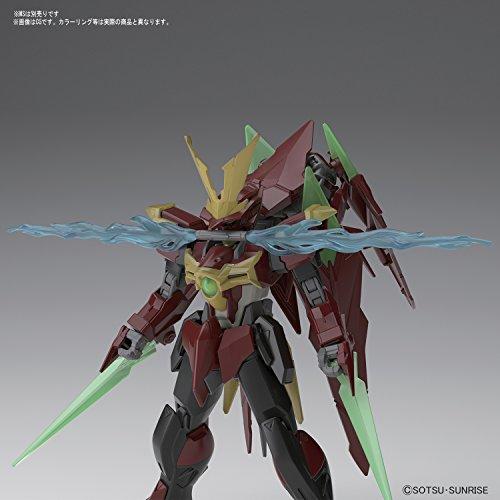HGBF ガンダムビルドファイターズ 忍パルスビームズ 1/144スケール 色分け済みプラモデル