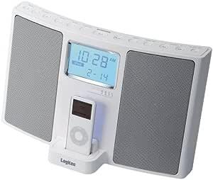 Logitec Made For iPod ドッキングHi-Fiスピーカー(FM/AMチューナ搭載) ホワイト LDS-RI700WH