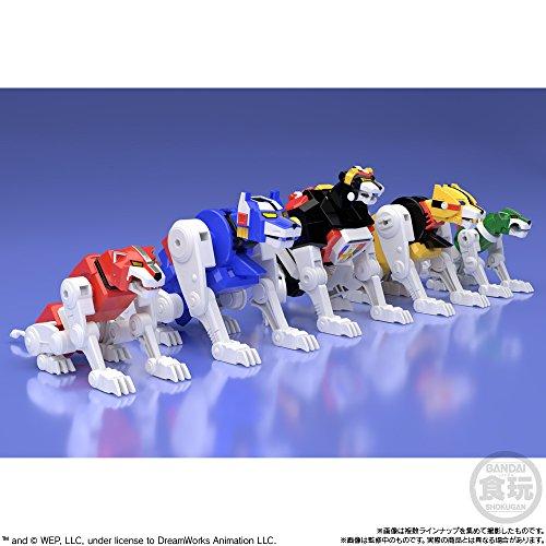 スーパーミニプラ 百獣王ゴライオン (5個入り) 食玩・ガム (百獣王ゴライオン)