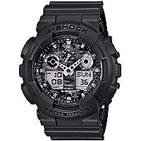 Casio G-Shock Duo/Chrono Grey And Camo Ga100Cf-8A Watch