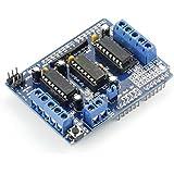 サインスマート(SainSmart) L293D モーター ドライブ シールドFor Arduino Duemilanove Mega UNO R3 AVR ATMEL
