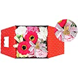 お花のカタチの入浴剤 ミッフィーバスフレグランスボックス 誕生日 記念日 お祝い (ピンク)