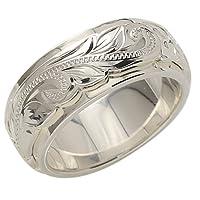 BreezyIsland ハワイアンジュエリー 2トーンリング 指輪 シルバー925 (US9-JP18.5号)