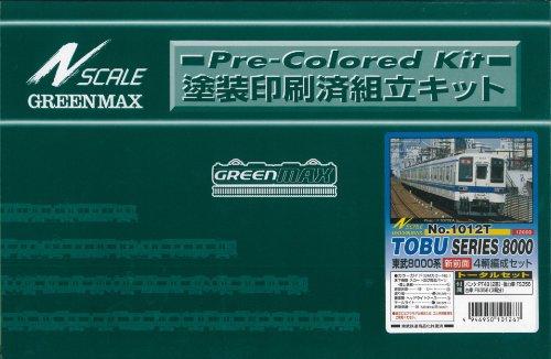 Nゲージ 1012T 東武8000系新前面4輌トータルセット (塗装済車両キット)