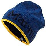 マーモット(Marmot) Reversible Logo Knit Cap TOAMJC40 BLNV ブルー/ネイビー ONE