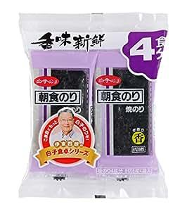 白子のり 焼朝食 香 4食分×10個