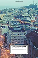 """Notebook: Powell Street At 6am , Journal for Writing, Size 6"""" x 9"""", 164 Pages"""
