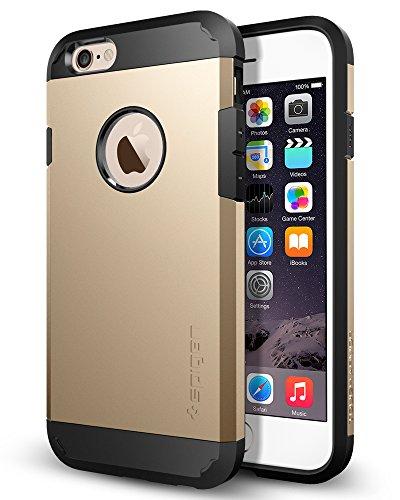 iPhone 6 ケース, Spigen®  エアクッションテクノロジー Apple iPhone 4.7 (2014) タフ・アーマー The New iPhone アイフォン6 (国内正規品) (シャンパン・ゴールド 【SGP10970】)