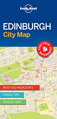 Download Lonely Planet Edinburgh City Map (Lonely Planet City Maps) 1786575094