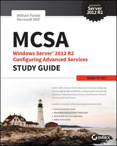 Download MCSA Windows Server 2012 R2 Configuring Advanced Services Study Guide: Exam 70-412 1118870123