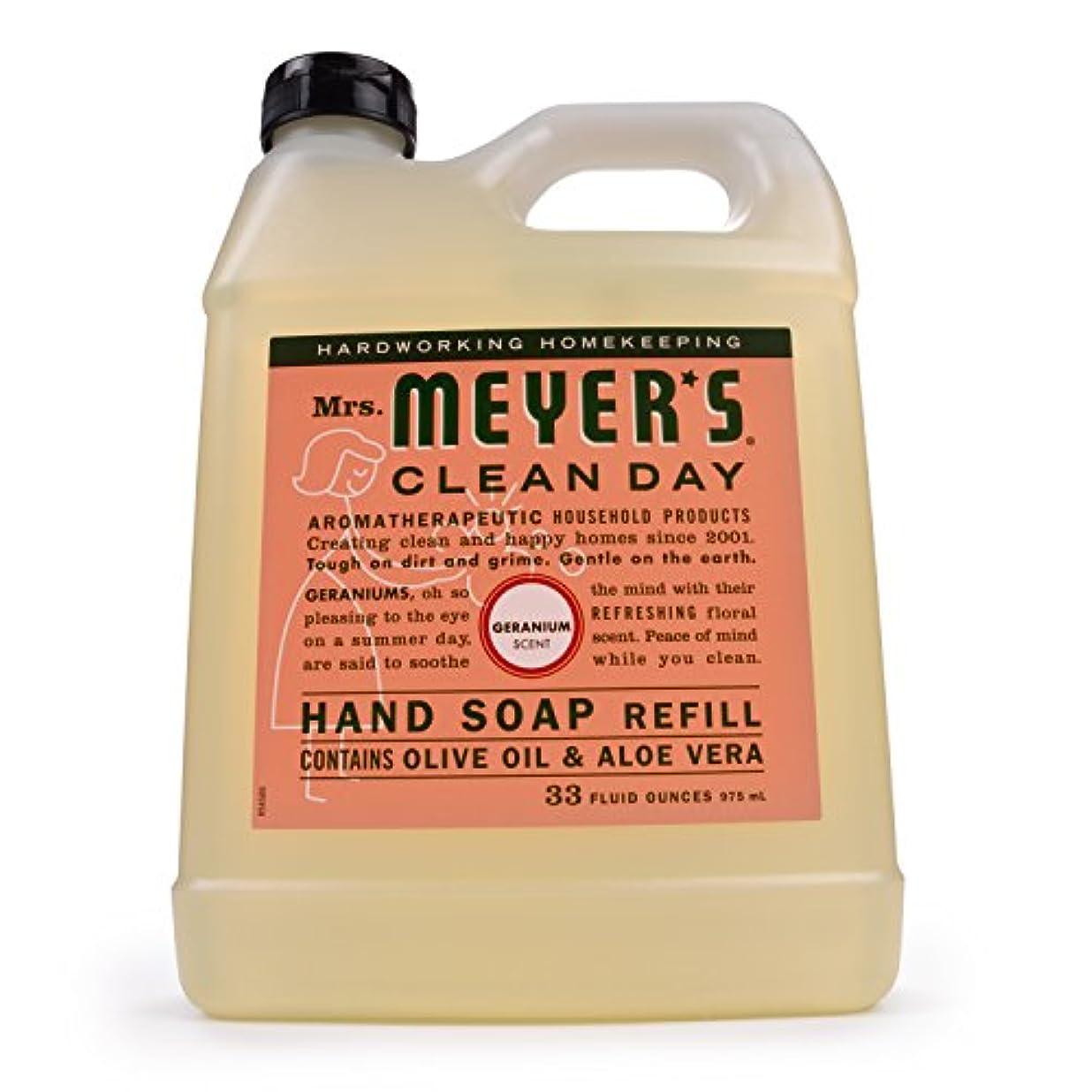 エリート猫背小売Mrs. Meyer's Clean Day Liquid Hand Soap Refill,33 oz,Geranium by Mrs. Meyer's Clean Day