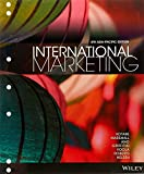 Cover of International Marketing 4E Asia Pacific Binder Ready Version