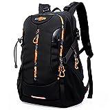 KAKA 登山バッグ リュックサック 通勤 ビジネスバッグ 旅行 ハイキング バッグバッグ 大容量 48L KAKA2223 ブラック