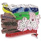 日本百名山[ピンバッジ]1段 ピンズ/那須岳 エイコー トレッキング 登山 グッズ 通販