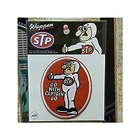 企業系 ワッペン STP CAPTAIN RED ワッペン 刺繍、エンブレム オシャレ アップリケ 人気 アメ雑 アメリカン雑貨