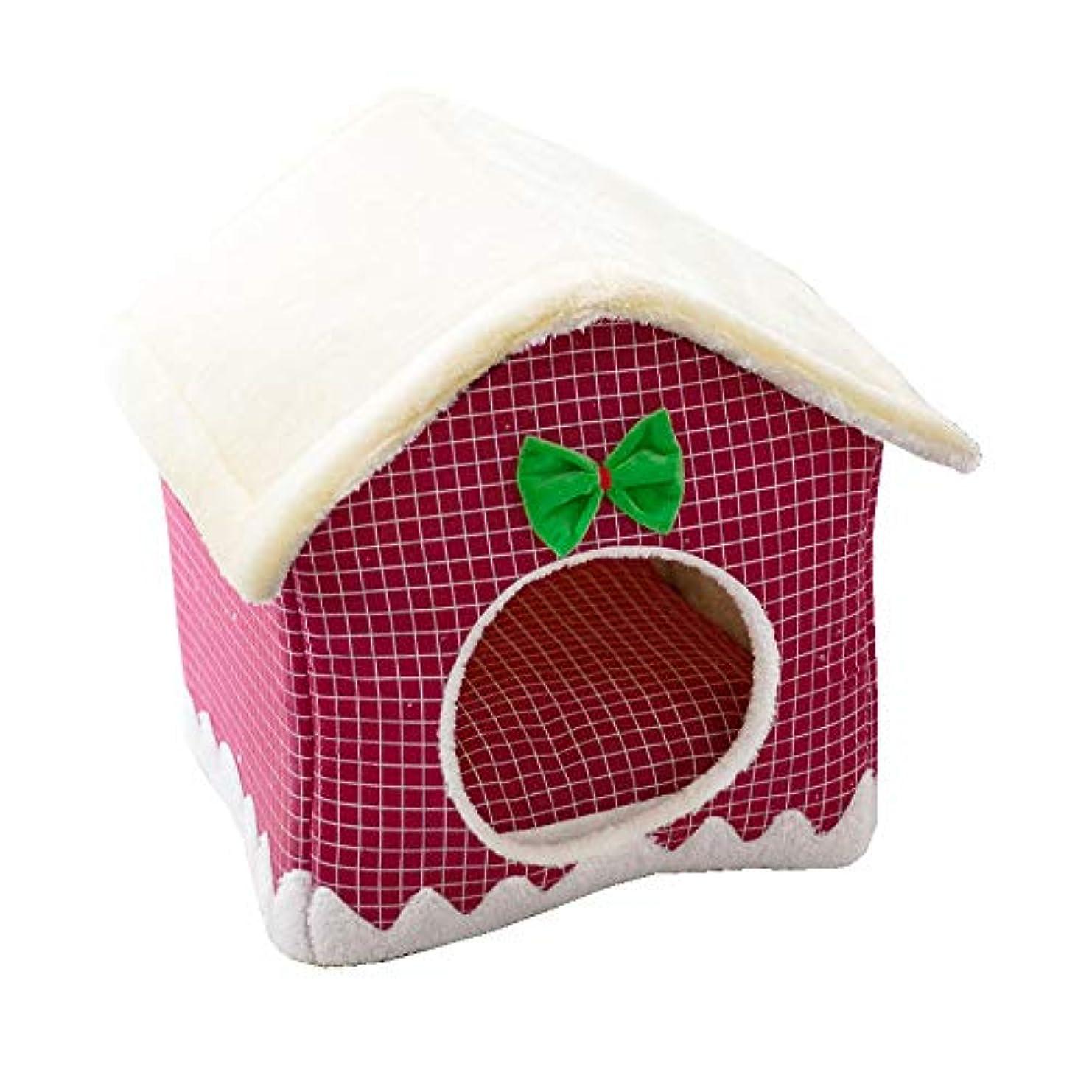 銀行起こるエスニック猫のベッド、クリスマスの犬のベッドペットベッド、さまざまなスタイル、クリスマス帽子スリッパエルクケーキギフトボックス,Style7
