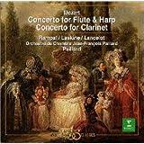 モーツァルト : フルート&ハープ協奏曲&クラリネット協奏曲