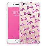 【iPhone 7 / アイフォン 7 対応 ケース】 Barbie Clear Jelly バービー 透明 ゼリー ケース スマホ カバー CorePattern / コア パターン