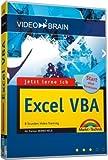 video2brain Jetzt lerne ich Excel-VBA. Videotraining auf DVD für Windows ab 98: 8 Stunden Video-Training auf DVD - Start ohne Vorwissen