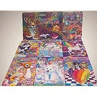Lisa Frank、Huge 8ピースギフトセットバンドル、1 Superアクティビティパッドwithステッカー、1ジャンボカラーリングアクティビティBook & 6 Giant Coloring Activity Books