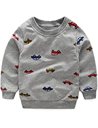 73fe30ef6f4115 Amazon.co.jp: LittleSpring - トレーナー・パーカー / ボーイズ: 服 ...