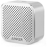 Anker SoundCore nano 超コンパクト Bluetoothスピーカー 【高品質アルミ外装/内蔵マイク搭載】(シルバー)