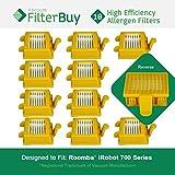 10 FilterBuy iRobot Roomba 700互換フィルタ。Designed by FilterBuy to Replace iRobot Roomba 700シリーズ真空AeroVacフィルタ