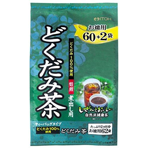 井藤漢方製薬 徳用 どくだみ茶 3g×62袋