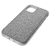 [スワロフスキー] No Gemstone No Metal Type ケース 5616367 High Smartphone ケース, iPhone 12/12 Pro, シルバー系