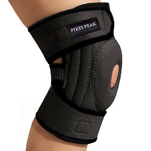 膝サポーター 関節靭帯保護 膝 サポーター 膝固定 膝保護 怪我防止 通気性 左右兼用 膝回り38㎝以下