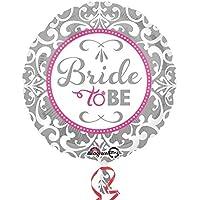 Anagram 18 Inch Circle Foil Balloon - Elegant Bride
