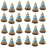 バルク構造 テーマ バースデーパーティー ペーパーハット (24個パック) パーティーでの楽しいゲームやアクティビティ用高品質パーティー用品