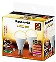 パナソニック LED電球 E17口金 電球60形相当 電球色相当(7.0W) 広配光タイプ 2個セット LDA7LGE17K60ESW22T