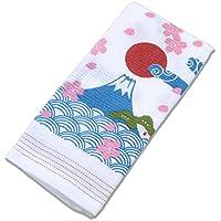 今治産タオル フェイスタオル 布ごよみ 富士山 33×100cm 39137