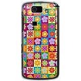 CaseMarket 【ポリカ型】 au AQUOS PHONE SL IS15SH ポリカーボネート素材 ハードケース [ 60's フラワー ]