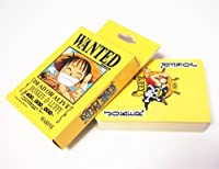 Poker Fans Anime Characters One Piece Luffy 54pcs Poker Playing Cards