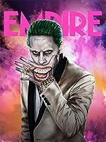 スーサイド スクワッド ジョーカー 4 Suicide Squad Joker シルク調生地 ファブリック アート キャンバス ポスター 約60×90cm [並行輸入品]