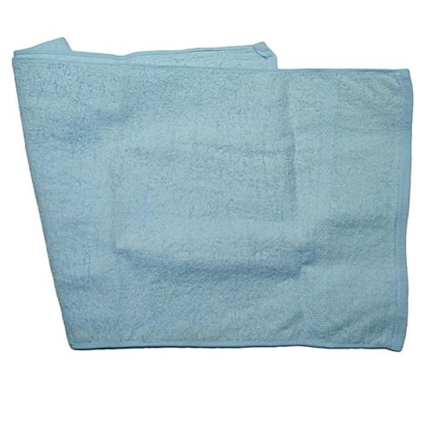 保護アレルギー肩をすくめる健康タオル ハダピカ ブルー