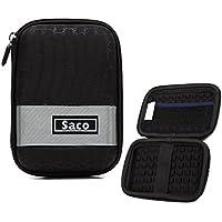 Saco外部ハードディスクハードケースポーチカバーバッグWD Elements 2tb USB 3.0ポータブルハードディスク–ブラック