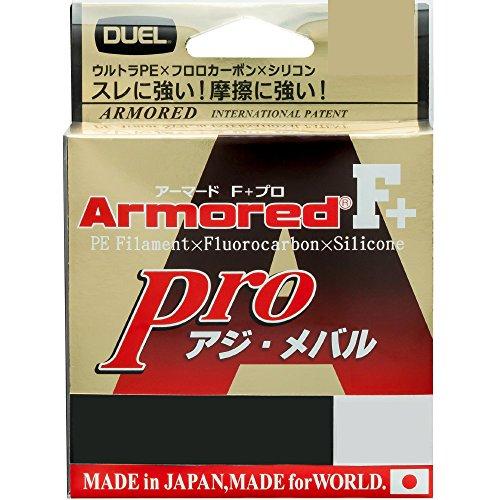 アーマード F+ Pro アジ・メバル150M 0.2号 : ライトピンク