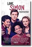 キャラクターポスター、映画ポスター、Love Simonムービーニックロビンソンメイン ポスター A3サイズ(42x30cm) 画像