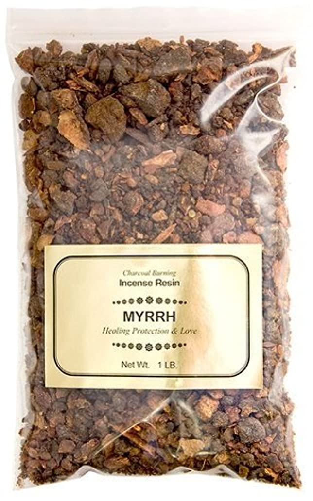 終点不潔貸すNew Age Myrrh Resin Incense, 1 lb by New Age