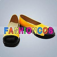★サイズ選択可★女性23CM UA1247 VOCALOID3 ボーカロイド SeeU シユ コスプレ靴 ブーツ
