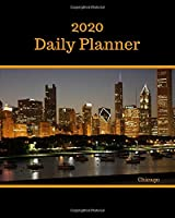 """2020 Daily Planner: Chicago; January 1, 2020 - December 31, 2020; 8"""" x 10"""""""